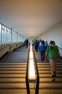 Treppe in ABB Technikerschule