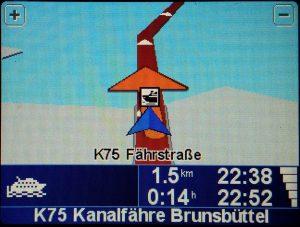 Fähre nach Brunsbüttel